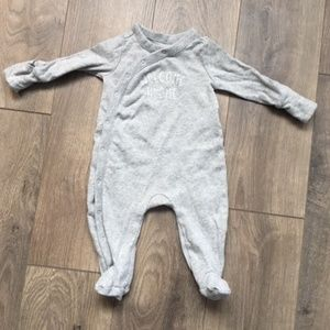 Baby Gap Welcome Home Footed One Piece  Sleeper